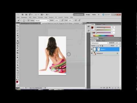 Tattoo Faken mit Photoshop CS5