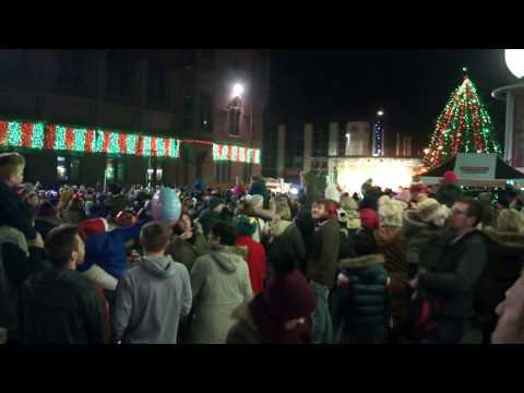 Barrow-in-Furness Christmas Light Switch On 2016