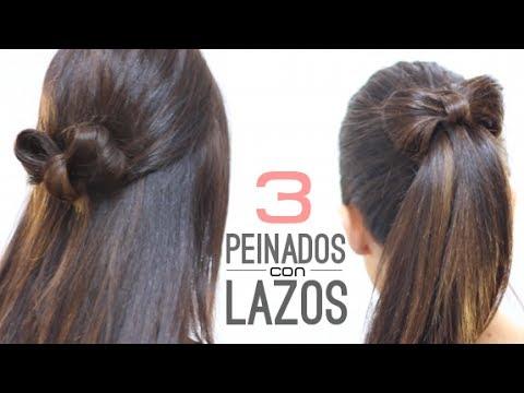 Peinados fáciles con lazos