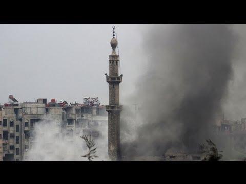 Καθοριστικές μάχες στη Δαμασκό