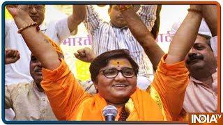 NIA court refuses to bar Sadhvi Pragya from contesting Lok Sabha poll from Bhopal - INDIATV