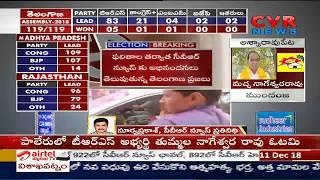 Tummala Nageswara Rao losses | Former Speaker S. Madhusudhana Chary Back | CVR News - CVRNEWSOFFICIAL