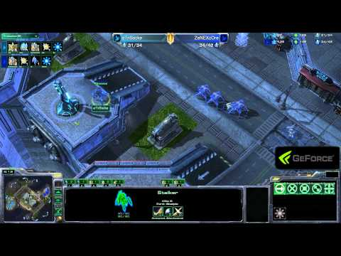 GSPA - Socke vs Core - G2 - Pro Week 4 - PvP - StarCraft 2
