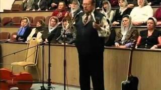 Cлужение Юрия и Валентины Богачёвых в церкви - Спасение