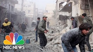 Barrel Bombs, Rockets Kill Hundreds In Rebel-Held Eastern Ghouta | NBC News - NBCNEWS