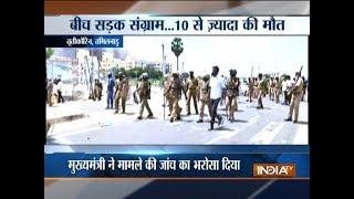 11 killed in police firing as protest over Sterlite plant in Tamil Nadu turns violent - INDIATV