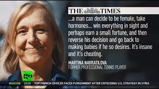 Transgender women in sports – fair or not? Tennis legend reignites fury & debate… - RUSSIATODAY