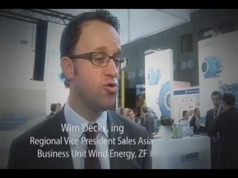 Why is EWEA Offshore 2013 a crucial event for ZF?