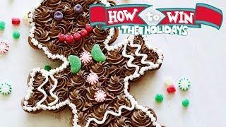Pull-Apart Gingerbread Man   Food Network - FOODNETWORKTV