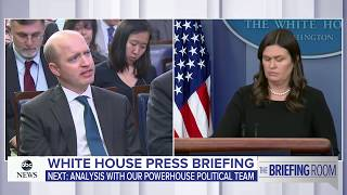 White House press briefing likely on Trump, Pres. Moon and Korea Summit, Rosenstein, DOJ  | ABC News - ABCNEWS