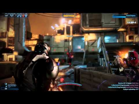 Mass Effect 3 Multiplayer - Human Soldier against Geth