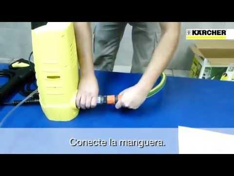 Primeros pasos con su hidrolavadora karcher www.karcherpoint.com.ar