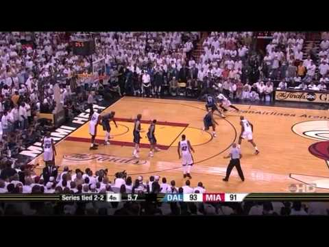 Dwyane Wade Highlights in Game 5 of the 2006 NBA Finals Mavericks vs. Heat