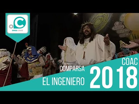 La agrupación El ingeniero llega al COAC 2018 en la modalidad de Comparsas. En años anteriores (2017) concursaron en el Teatro Falla como El penal de los vencidos, consiguiendo una clasificación en el concurso de Preliminares.