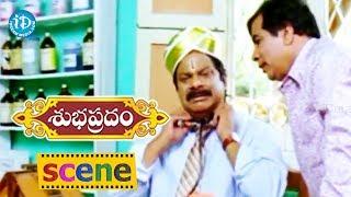 Subhapradam Movie Scenes - Sarath Babu Falls Sick || Manjari Phadni, Allari Naresh - IDREAMMOVIES