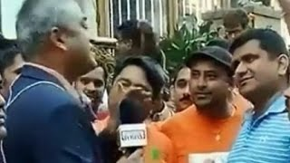 Rajdeep Sardesai roughed up outside Madison Square Garden NYC :TV5 News - TV5NEWSCHANNEL