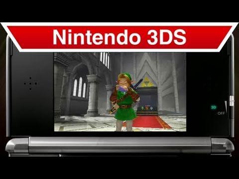 Nintendo 3DS - The Legend of Zelda: Ocarina of Time 3D New Features Trailer