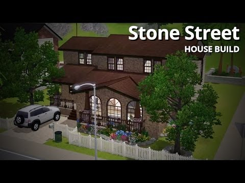 The Sims 3 Speed Builds - Stone Street