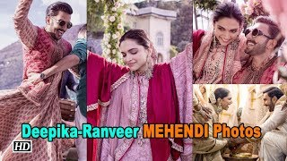 Newly wed Ranveer Singh shares MEHENDI Photos - IANSINDIA