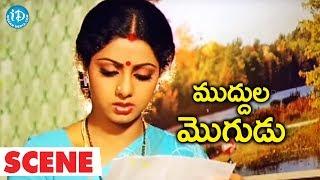 Muddula Mogudu Scenes - Kaikala Satyanarayana Plans To Send Sridevi To Her House || ANR, Sridevi - IDREAMMOVIES