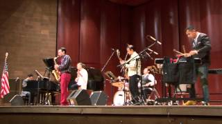 Concierto de Matias Carbajal y su ensamble jazz en UTEP