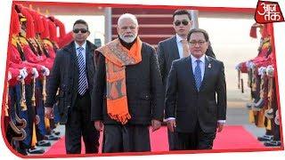 दक्षिण कोरिया में PM Modi को मिला Seoul Peace Prize - AAJTAKTV