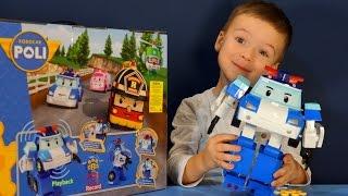 Робокар поли и его друзья игрушки из