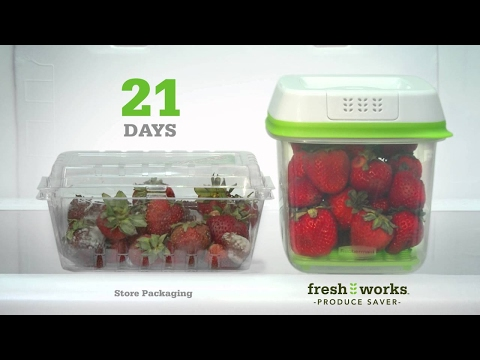 Rubbermaid Fresh Works Part 2 - AS SEEN ON TV