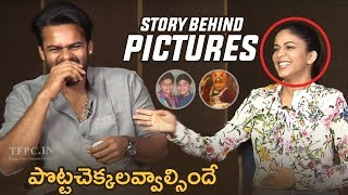Story Behind The Picture | Sai Dharam Tej and Lavanya Tripathi Making Hilarious Fun - TFPC