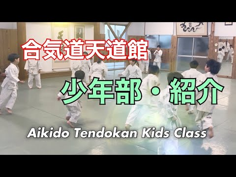 天道流合気道 天道館 少年部 Tendoryu Aikido TENDOKAN Kids Class