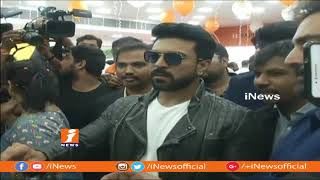 Ram Charan Inaugurates Happi Mobile Store In Hyderabad | iNews - INEWS
