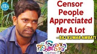 Censor People Appreciated Me A Lot - Rajkumar Ambati    Dil Unna Raju    Talking Movies With iDream - IDREAMMOVIES