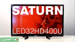 Saturn LED32HD400U - доступный плоскопанельный телевизор -Видеодемонстрация от Comfy