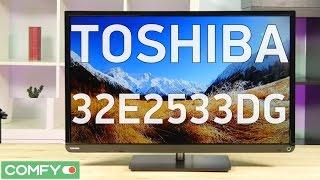Toshiba 32E2533DG - простой телевизор с современным оснащением - Видео демонстрация