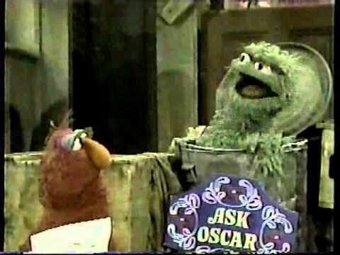 Sesame Street Ask Oscar the letter X