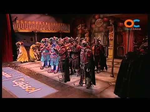 Sesión de Cuartos de final, la agrupación Los fantasmas del Carnaval actúa hoy en la modalidad de Comparsas.