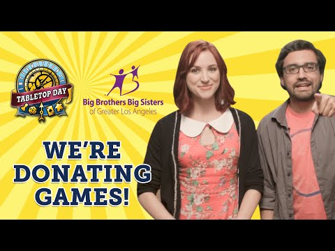 Geek & Sundry Donates Thousands of Games for TableTop Day!