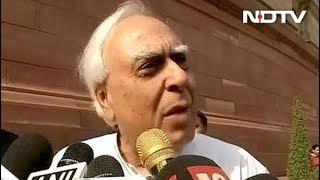 सिब्बल का राफेल मुद्दे पर पलटवार - बचकाने बयान देना बंद करें अमित शाह - NDTVINDIA