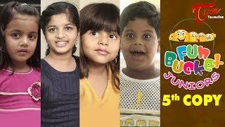 Fun Bucket JUNIORS | Students Jokes | Episode 5 | Kids Funny Videos | Comedy Web Series - TELUGUONE