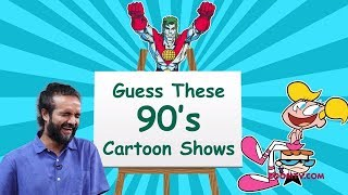 Can You Guess these 90's Cartoon shows? | Pictionary Challenge | Children's Day Special - ZOOMDEKHO