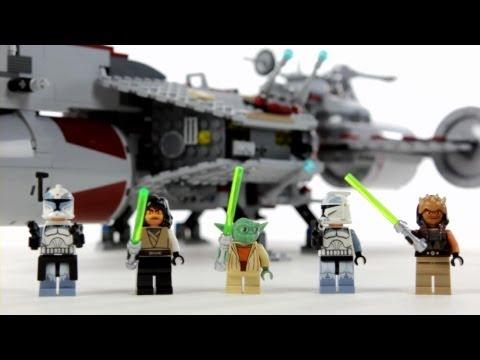 LEGO Star Wars Republic Frigate – Muffin Songs' Oyuncakları Tanıyalım