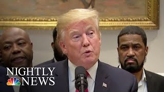 President Donald Trump Rolls Out Most Sweeping Prison Reform Agreement In Decades | NBC Nightly News - NBCNEWS