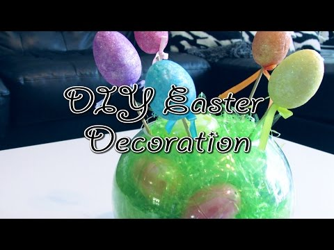 DIY Easter Decor Idea! Cheap & Easy