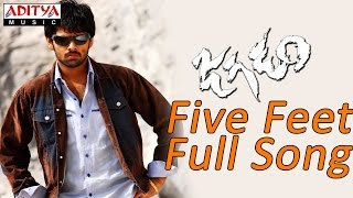 Five Feet Full Song ll Jagadam Movie ll Ram, Isha - ADITYAMUSIC