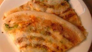Corn and Cheese Dosa recipe