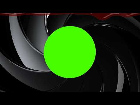 James Bond 007 Gunbarrel - Green Screen Animation