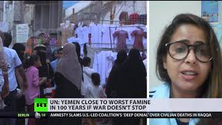 Yemen close to worst famine in 100 years if war doesn't stop - RUSSIATODAY