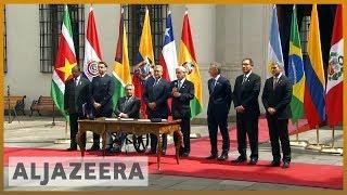 🇨🇱 South American leaders announce new regional bloc l Al Jazeera English - ALJAZEERAENGLISH