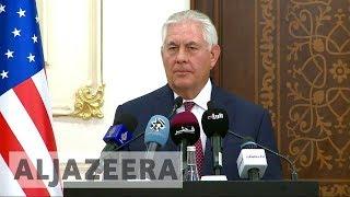 Tillerson: Saudis not ready to end Gulf crisis with Qatar - ALJAZEERAENGLISH
