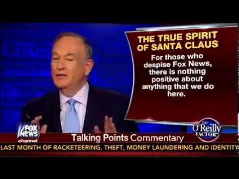 Bill O'Reilly przekonuje, że Święty Mikołaj jest biały